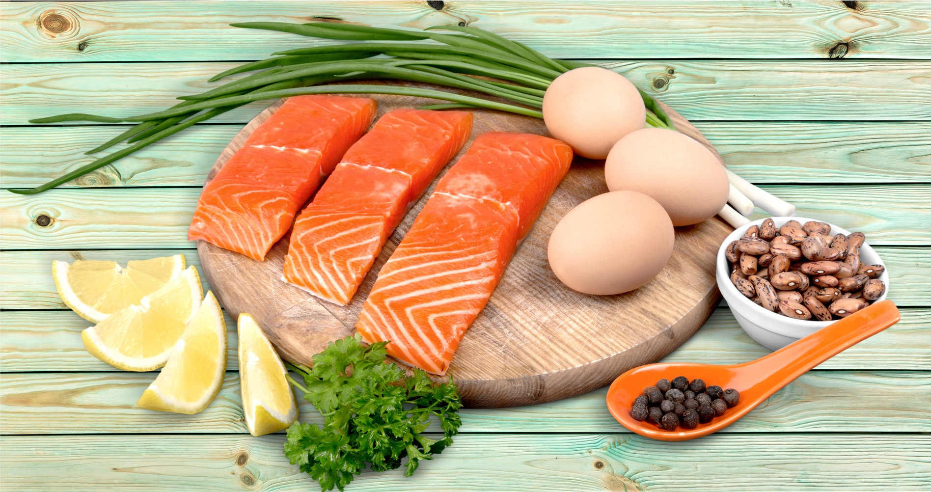 What is the essence of a diet on protein food