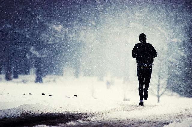 runnin in rain
