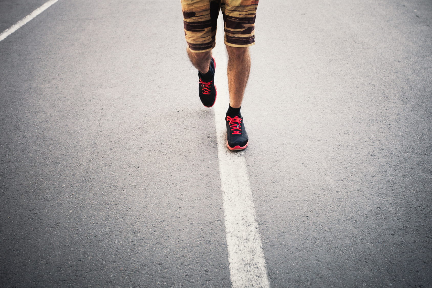picutre of runners legs